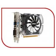 Видеокарта MSI GeForce GT 730 700Mhz PCI-E 2.0 2048Mb 1800Mhz 128 bit DVI HDMI HDCP V2