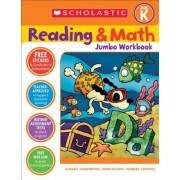 Reading & Math Jumbo Workbook: Grade Prek, Paperback