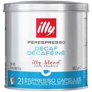 Capsule Cafea illy Iperespresso decofeinizata, 21 buc
