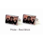 Tyler & Tyler Stencilart 7 Deadly Sins Red Brick Cufflinks Pride