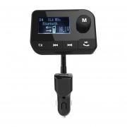 HK106 Car Bluetooth Receptor De Audio Multifunción Y Transmisor De FM