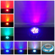 15W 12V Color RGB Underwater Swimming Pool LED Light Remote Control