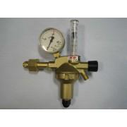 DIN-CONTROL AR/CO2 z rotametrem