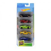 Set 5 masini, Hot Wheels Exotics