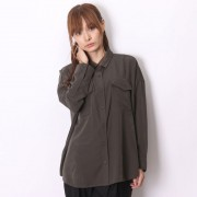 【SALE 50%OFF】アトモス atmos LAB BIG POCKET SHIRT (KAHKI)