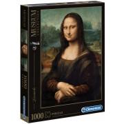 Puzzle Clementoni - Leonardo, Mona Lisa, 1000 piese