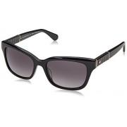 Kate Spade JOHANNA2/S Gafas de Sol, color Negro/Gris Oscuro
