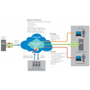 DELL SonicWALL Hosted Email Security, 750u, 2y 750user(s) 2year(s)
