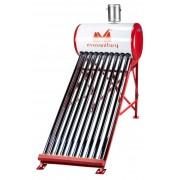 Sistem Panou Solar Inox cu Tuburi Vidate SP-470-R, 166 l, 15 Tuburi, EvoSanitary,