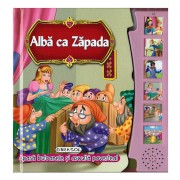 Editura Girasol - Citeste si Asculta Alba Ca Zapada