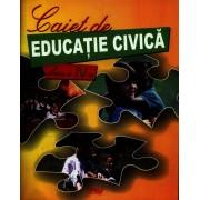 Caiet de educatie civica pentru clasa a IV-a