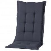 Madison Pernă scaun cu spătar mic Panama, gri, 105 x 50 cm MONLB239