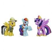 My Little Pony Daring Pony Story Set [Daring Do Dazzle Princess Twilight Sparkle and Rainbowfied Rainbow Dash]