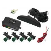 Set 4 Senzori de Parcare Auto Blow cu Display LCD si Avertizare Acusica + Cabluri si Accesorii Montaj