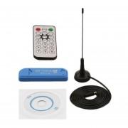 Usb 2.0 Digital Dvb-T Deg+Dab+Fm Tv Receptor Sintonizador Stick Rtl283