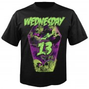 tricou stil metal bărbați Wednesday 13 - Coffin - NUCLEAR BLAST - 28827_TS