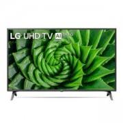 Телевизор LG 50UN80003LC, 50 инча 4K IPS UltraHD (3840 x 2160), DVB-T2/C/S2, HDR10 PRO 4K/2K, Ultra Surround, Miracast, 2 Pole Stand, Titan