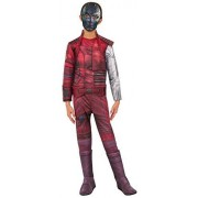 Rubie's Costume Guardians Of The Galaxy Vol. 2 Child's Deluxe Nebula Costume, Multicolor, Large