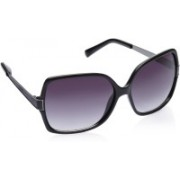 Image Over-sized Sunglasses(Violet)