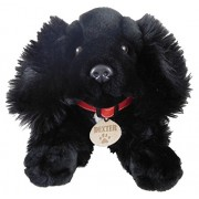 Whitehouse Leisure 35cm Keel Toys Black Spaniel Soft Toy Dog 'dexter' Exclusive To Toyland