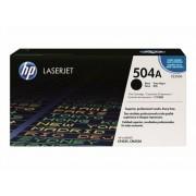 CE250A Lézertoner ColorLaserJet CM3530, CP3525 nyomtatókhoz, HP 504A fekete, 5k (TOHPCE250A)