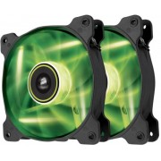 Ventilator Corsair SP120 LED High Static Pressure 120mm (LED Verde) - Twin Pack