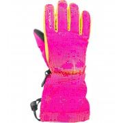 RELAX PUZZY Junior lyžařské rukavice RR15E růžová 10Y
