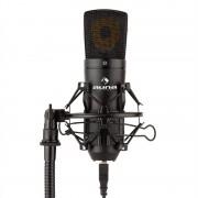 AUNA MIC-920B USB кондензаторен микрофон студио USB голяма микрофонна диафрагма черен (HKMIC-920-B)