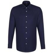 Seidensticker Overhemd Light Business Kent Navy / male