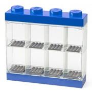 LEGO Storage, Cutie albastra pentru 8 minifigurine