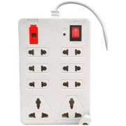 Electricity Board Extension cords Boards Power Strip Surge Protector Multi Plug Multi Socket 8 Socket 6AMP