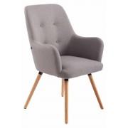 Timwood Experience Poltrona lounge AARHUS in tessuto, grigio CLP, grigio, altezza seduta