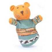 ChunkiChilli Organic Cotton Tiger Hand Puppet