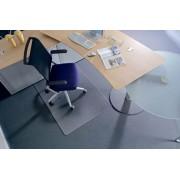 Székalátét, szőnyegre, E forma, 90x120 cm, RS OFFICE Roll-o-Grip (BRSZE90)