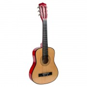 Chitara lemn pentru copii Bontempi, 77 cm, curea umar, 5 ani+