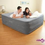 Intex zračni krevet Comfort Plush High Rise Queen s ugrađenom crpkom