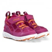 Viking Velcro Sneakers Fuchsia/Orange Barnskor 24 EU