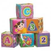 Комплект Меки Кубчета За Баня - Розови, Play Gro, 079435