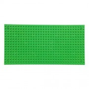 """Fancyku 2 Pack Building Base Plates 5"""" x 10"""" Original Base Plate - Compatible with All Major Brands (Green)"""