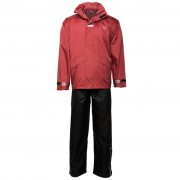 Willex Rain Suit Size S Red and Black 29148
