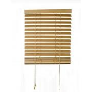 Dřevěná žaluzie 100x130cm v přírodní barvě