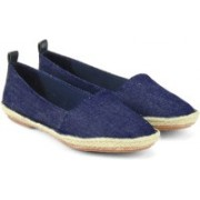 Clarks Clovelly Sun Denim Bellies For Women(Blue)