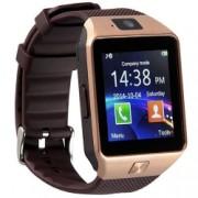 Ceas Smartwatch cu Telefon iUni S30 Plus Bluetooth Camera 1.3 Mpx Auriu Bonus Bratara Roca Vulcanica unisex