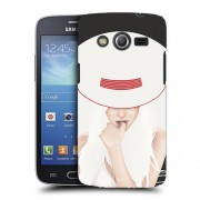 Husa Samsung Galaxy Core 4G LTE G386F Silicon Gel Tpu Model Abstract Women V13
