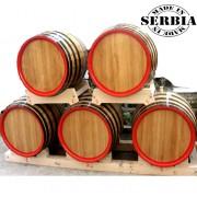 Drveno bure za rakiju, vinu 150l - hrastovo