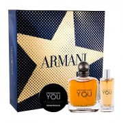 Giorgio Armani Emporio Armani Stronger With You confezione regalo eau de toilette 100 ml + balsamo 50 ml + eau de toilette 15 ml uomo