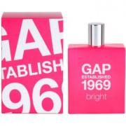 Gap Gap Established 1969 Bright eau de toilette para mujer 100 ml