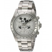 Invicta Watches Invicta Men's 'Disney Limited Edition' Quartz Stainless Steel Casual Watch ColorSilver-Toned (Model 22863) WhiteSilver