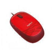 MOUSE LOGITECH M105 ROJO OPTICO ALAMBRICO USB 1000 DPI PC/MAC/CHROME