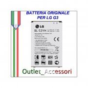 Batteria Pila Originale LG BL-53YH Optimus G3 D855